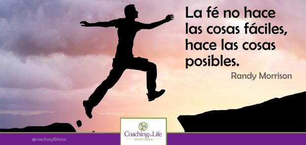 Haz las cosas posibles en TU vida