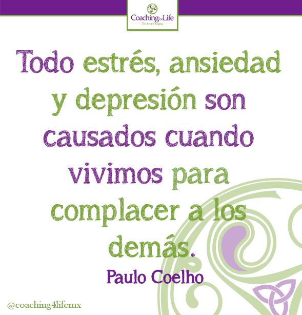Todo estrés, ansiedad y depresión son causados cuando vivimos para complacer a los demás