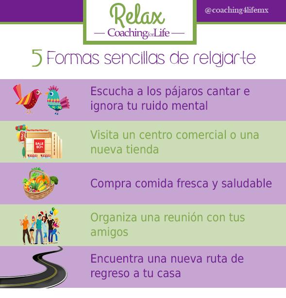 Consejos prácticos para relajarte