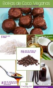 bolitas de coco veganas