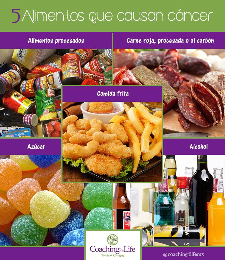 5 alimentos que causan c ncer - Alimentos que evitan el cancer ...