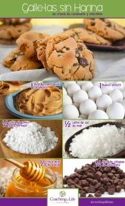 galletas sin harina
