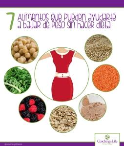 alimentos bajar de peso
