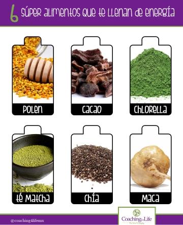 alimentos energía