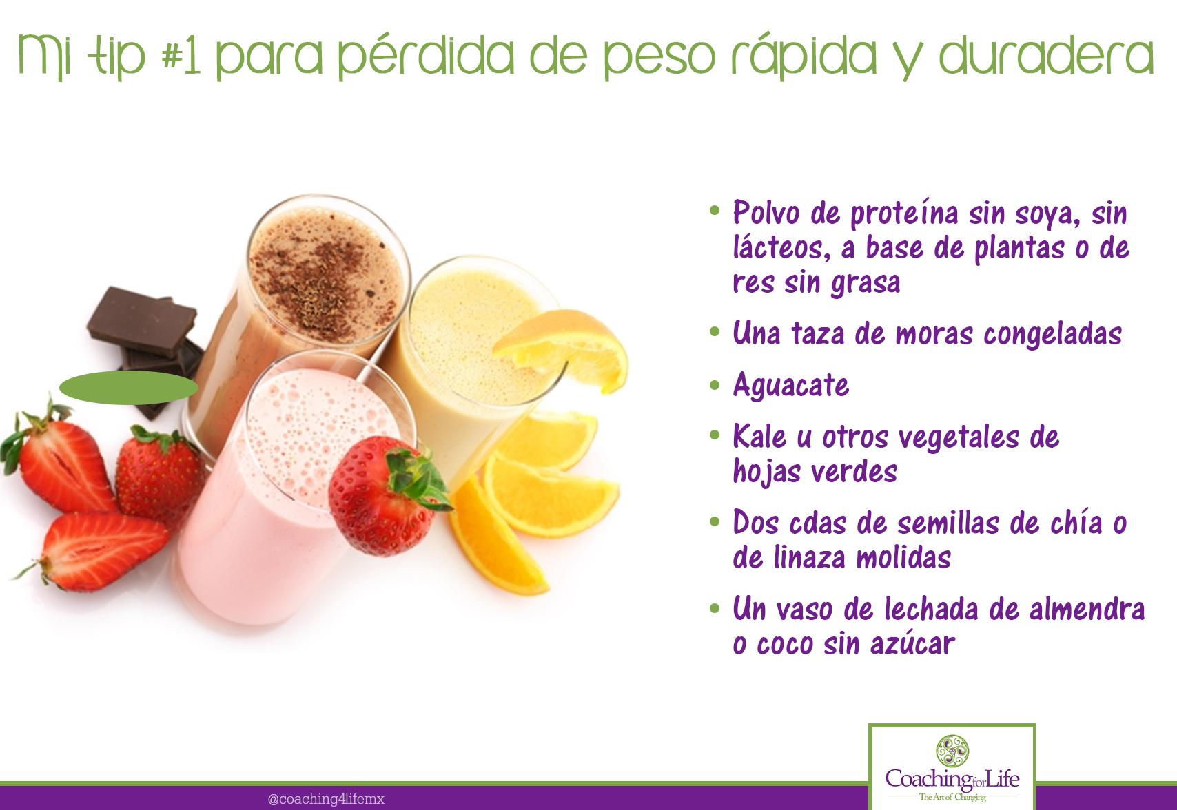 dieta proteinas para perder peso
