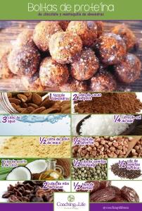 bolitas de proteína