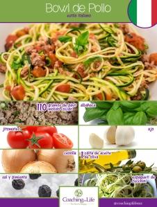 bowl estilo italiano